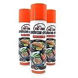 ToCi Barbecue Pflege-Spray für Grill und Gußeisen 200 ml Dose Trennspray Trennfett Grillspray Backtrennmittel (3 Stück)