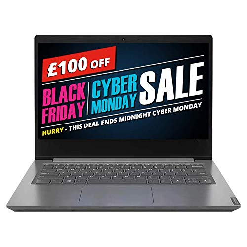 Lenovo V14-ADA 14-inch Laptop, AMD Ryzen 3 3250U, 4 GB RAM, 256 GB SSD, Windows 10 Home