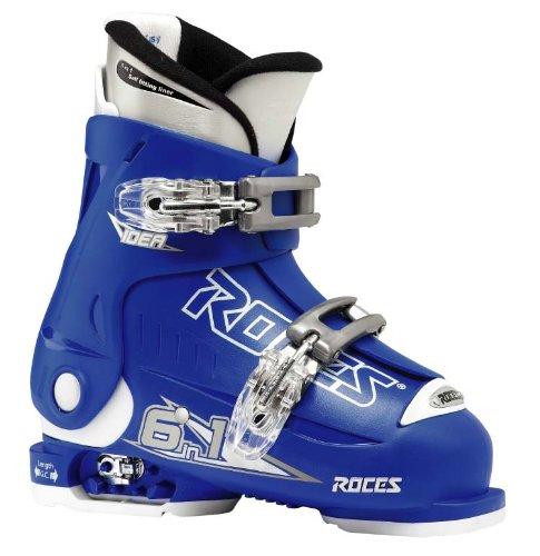 Roces Kinder Skischuhe Idea 19.0-22.0 MP, Blue-White, 30/35