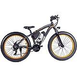 De múltiples fines Bicicleta eléctrica para adultos y adolescentes Bici de montaña eléctrica de 26 pulgadas Freno de aleación de aluminio de neumático de aluminio 7 Scooter de velocidad Freno de disco