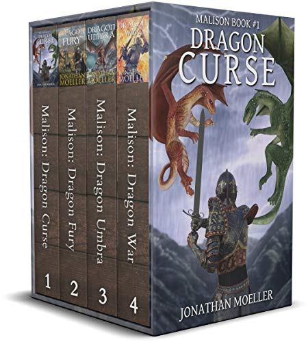 Mailson Dragons COmplete series by Jonathan Moeller
