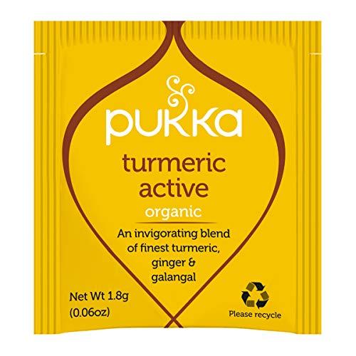 Pukka Herbs Turmeric Active Organic Herbal Tea 1000 Sachets Box