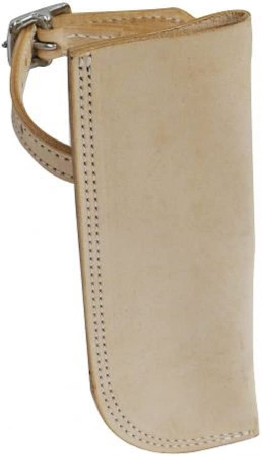 Leather Flag Carrier Holder. Light Special Campaign with Classic Attaches Oil. Aro Buckle