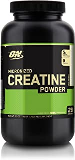 Optimum Nutrition Micronized Creatine Monohydrate Powder, Unflavored, Keto Friendly, 150G, 28 Servings