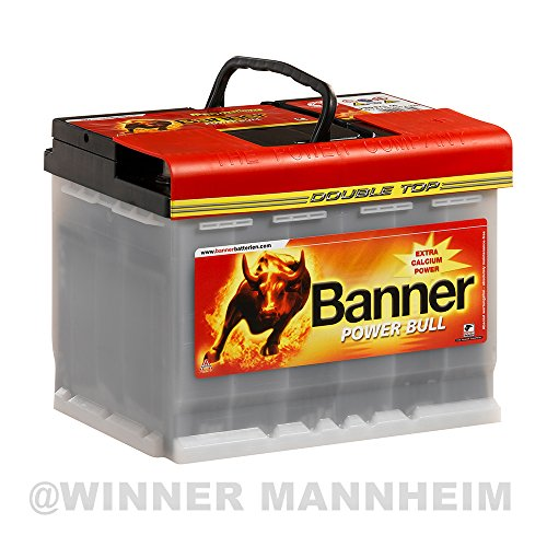 Banner Autobatterie 63AH Power Bull Professional