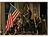 LAIDAO Canvas Poster Alice Cooper Vintage Rock Band Music