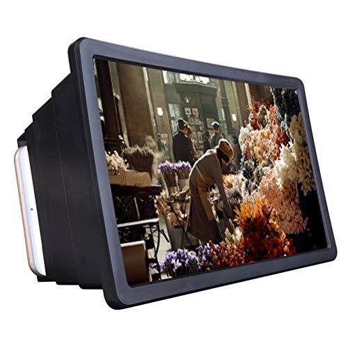 BSTQC Universal-Telefonbildschirm-Vergrößerer für Videos TV-Spiele Curved 3D Phone Screen Amplifier HD Handy-Screen Magnifier