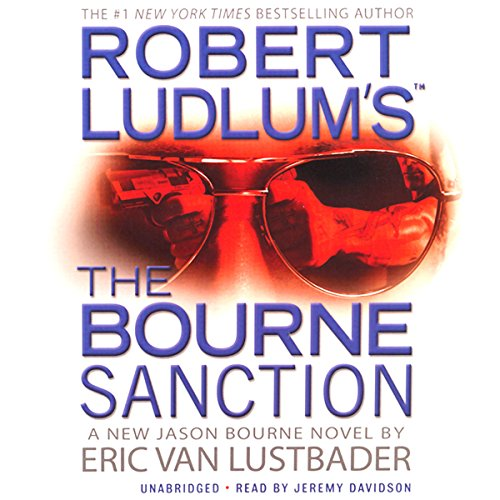 Robert Ludlum's The Bourne Sanction audiobook cover art