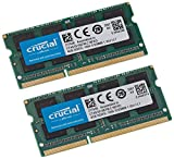Crucial CT2K4G3S1067M - Kit de Memoria para Mac de 8 GB (4 GB x 2, DDR3/DDR3L, 1066 MT/s, PC3-8500, SODIMM, 204-Pines)