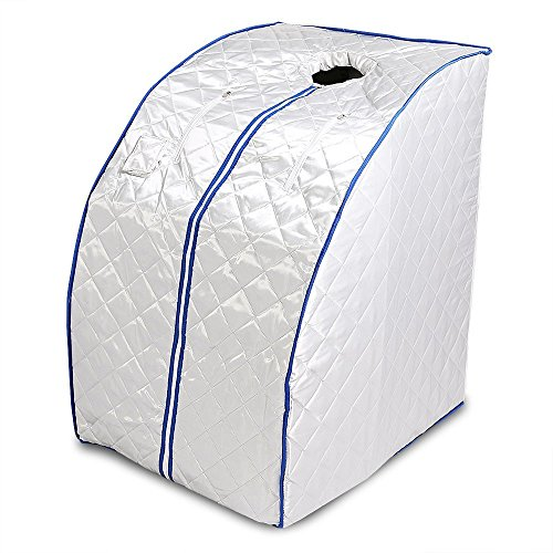 Guellin Sauna de Infrarrojos 1000W Sauna Iinfrarroja Portable Sauna Terapéutica Caja de Sauna Infrared Sauna
