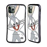 Head Case Designs Licenciado Oficialmente Looney Tunes Bugs Bunny Personajes Carcasa híbrida Compatible con Apple iPhone 11 Pro MAX