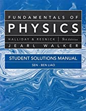 Student Solutions Manual for Fundamentals of Physics by David Halliday (2010-06-08)