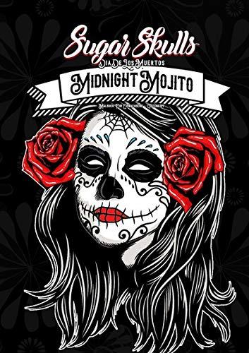 Sugar Skulls Dia de los Muertos - Malbuch für Erwachsene: | Tag der Toten Malbuch | 50+ Designs | Halloween | Tattoo Vorlagen | Anti Stress Malbuch