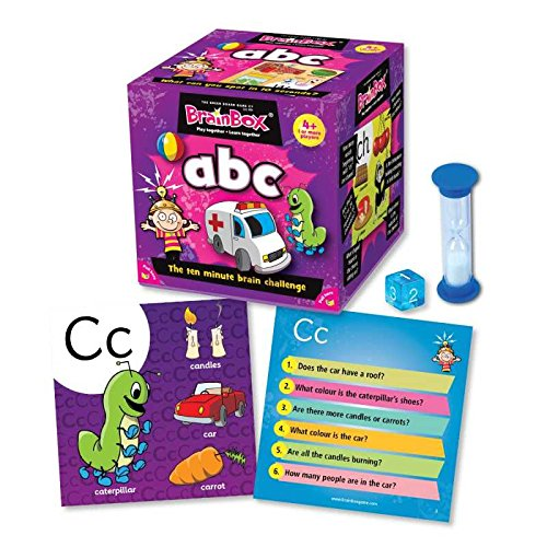 The Green Board Game Co. Brain Box - Brain Box ABC Versione Italiana