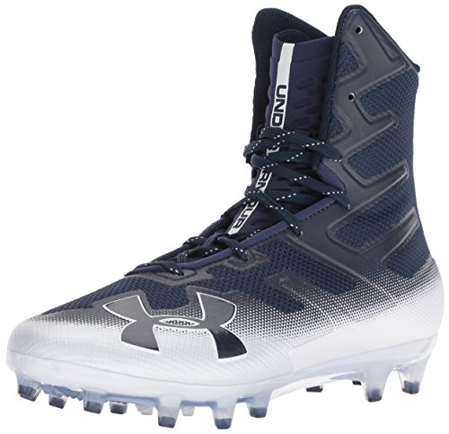 Under Armour Herren Highlight MC Fußball Stollenschuh, Blau (Midnight Navy (402)/White), 40 EU