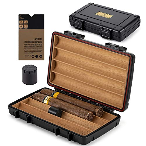 XIFEI Cigar Humidor Cedar Wood Travel...