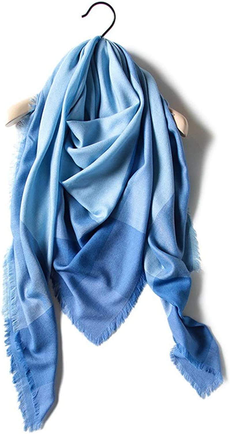 Scarf Women's Scarf Cashmere Women's Autumn and Winter Scarf Warm and Lady Shawl, Fashion Scarves