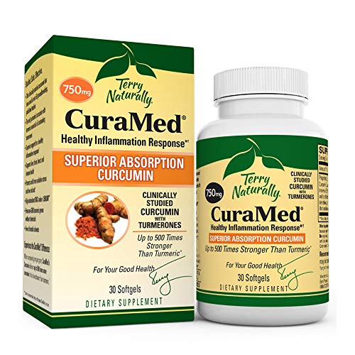 Terry Naturally CuraMed 750 mg - 30 Softgels -...