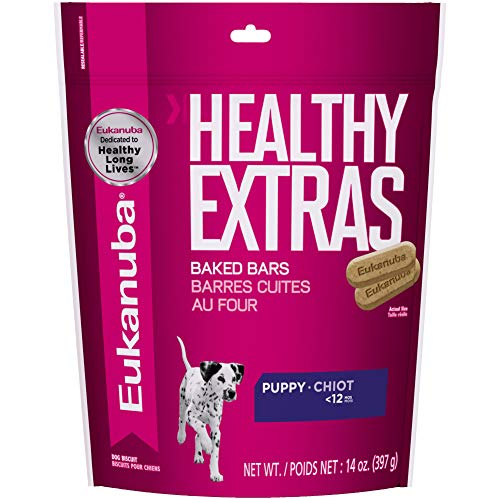 EUKANUBA Healthy Extras Puppy Dog Treats, 14 oz...