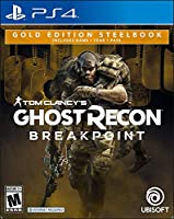 Tom Clancy's Ghost Recon Breakpoint: Steelbook Gold Edition (輸入版:北米) - PS4