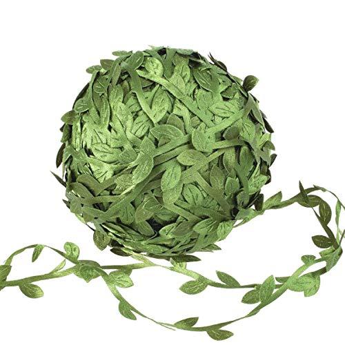 N/H - Ghirlanda artificiale con foglie di edera, per decorare la casa, 40 metri