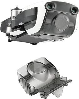 PENIVO Drone Camera Lens Cap Protector Gimbal Cover for DJI Mavic Air Accessories,Gimbal Quadcopter Lens Hood Sun Shade (Gray)