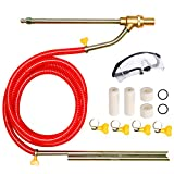 Selkie Pressure Washer Sandblasting Kit - Wet Abrasive Sandblaster Attachment, with Replacement Nozzle Tips,Protect Glasses, 1/4 Inch Quick Disconnect, 5000 PSI