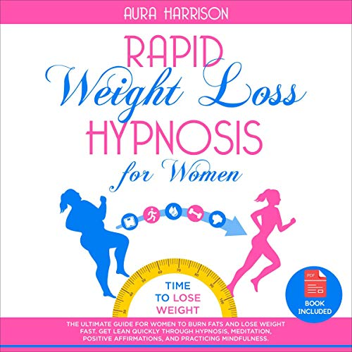 Rapid Weight Loss Hypnosis for Women cover art