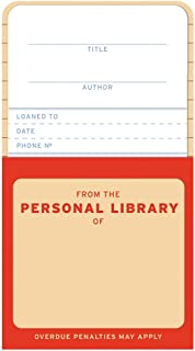 Knock Knock Personal Library Kit Refill Cards