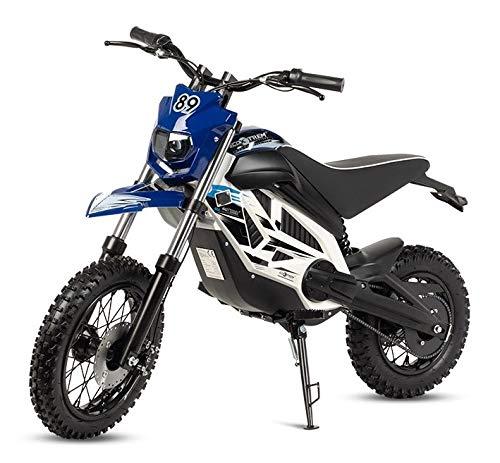 baratos y buenos VIRTUE Bicicleta Eléctrica Motocross Potente Batería 1000W 36V Niño Niña Bebé Bicicleta CROS Trial calidad