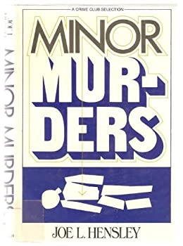 Minor murders 0385151365 Book Cover