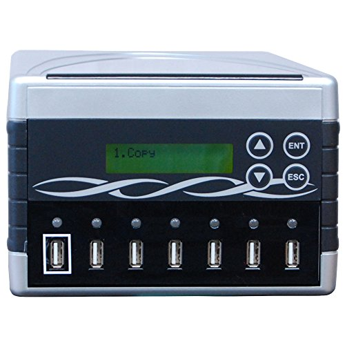 SySTOR 1 bis 6 Mehrfach-USB-Dummy-Duplikator/USB-Flashkartenkopierer (SYS06USB)