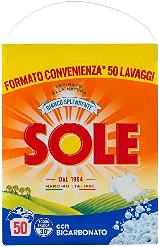 Sole Lavatrice Polvere 50 Misurini, 3250 gr