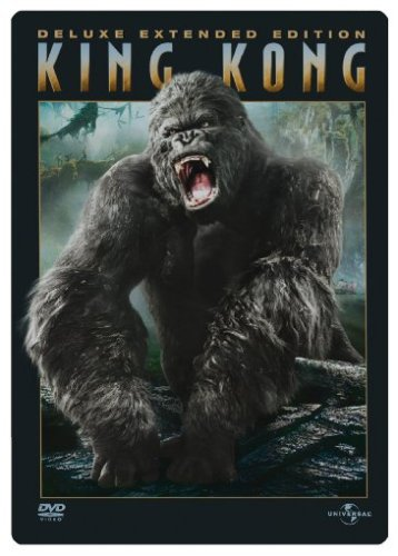 King Kong (Deluxe Extended Edition, 3 DVDs im Steelbook) [Limited Deluxe Edition]