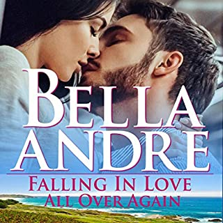 Falling in Love All over Again audiobook cover art