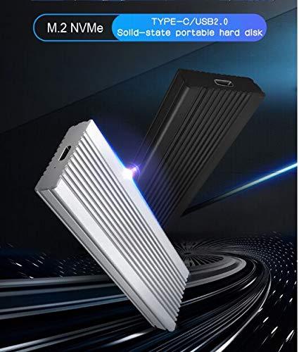 Disco duro externo de 2 TB, disco duro portátil externo para PC, portátil y Macv (2 TB, AZUL) miniatura