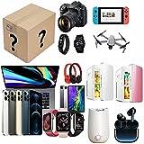 WCCCY Caja de Misterio electrónico, Caja de Misterio de Lucky Box Electronic, Existe la Posibilidad de Abrir: como Drones, Relojes Inteligentes, gamepads, cámaras Digitales y más