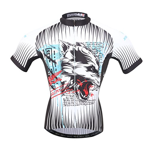 YOUJIA Hombres Jersey Ciclismo Maillots Bicicleta