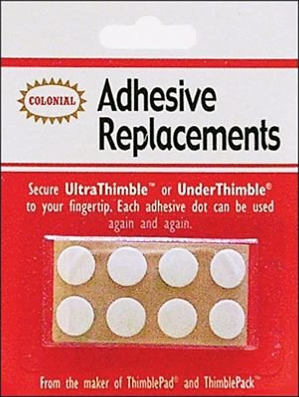 Bulk Buy: Colonial Needle Under Thimble Adhesive Replacements 8/Pkg SM201 (3-Pack)
