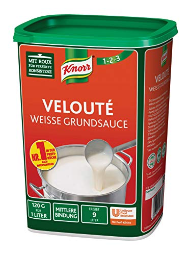 Knorr Velouté Weisse Grundsauce, 1er Pack (1 x 1 kg)