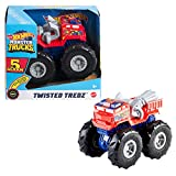 Hot Wheels- Veicolo Monster Truck Alarm, Macchinina con Ruote GIGANTI con Motore a Spinta,...