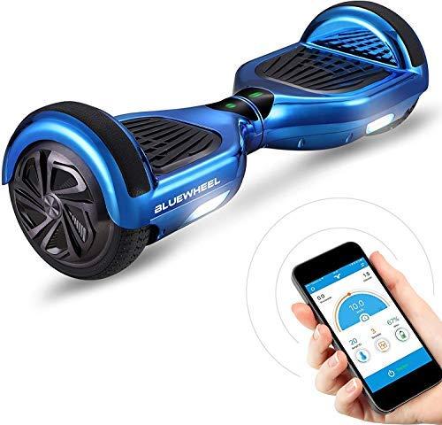 "6.5"" Premium Hoverboard Bluewheel HX310s - Duits kwaliteitsmerk - Bluetooth - kinder veiligheidsmodus & app - sterke 2 motoren - LED - elektro skateboard self balance scooter"
