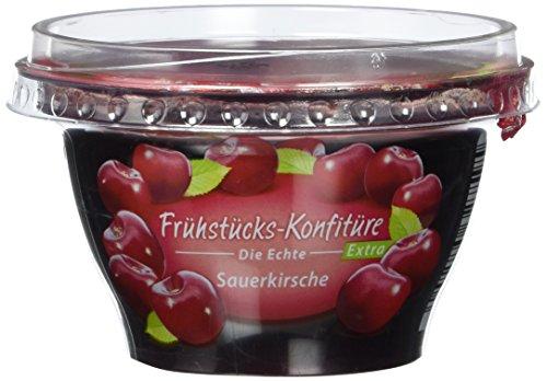 Zentis Frühstückskonfitüre Sauerkirsche, 4er Pack (4 x 200 g Becher)