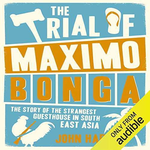 The Trial of Maximo Bonga audiobook cover art