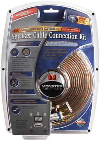 wholesale Monster Cable 2021 HTIB-SPF lowest Home-Theater-in-a-Box Speaker Connection Kit sale