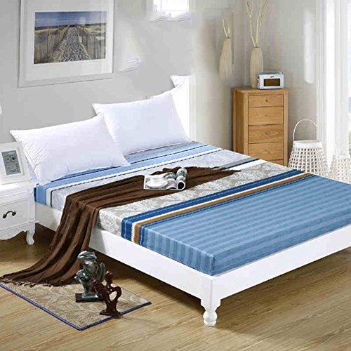 JIUMGNAGFHNMOPL totaal katoenen bed en één stuk Pure Cotton matrasovertrek latex matras cover uitgerust