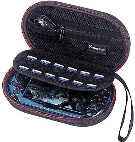 Smatree P100L Voyager et Home Stockage Case pour PS Vita 1000, PSV 2000 (8x 4,7x 2,7 pouces)