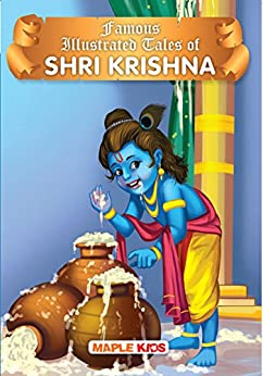 Krishna Tales (Illustrated) by [Maple Press]
