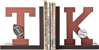 Book End دفاتر الخشب المزخرف للرفوف رسائل كتاب ينتهي كتب شخصية للدفارات المنزلية الثقيلة JH