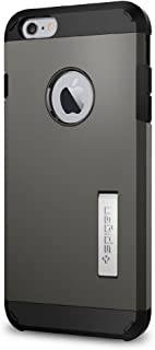 Spigen Tough Armor iPhone 6S Plus Case with Kickstand and Heavy Duty Air Cushion Technology Protection for iPhone 6S Plus 2015 - Gunmetal